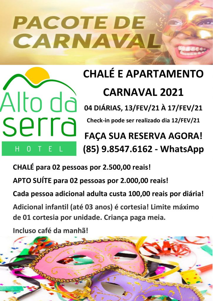 PACOTE CARNAVAL CHALE 2021-1